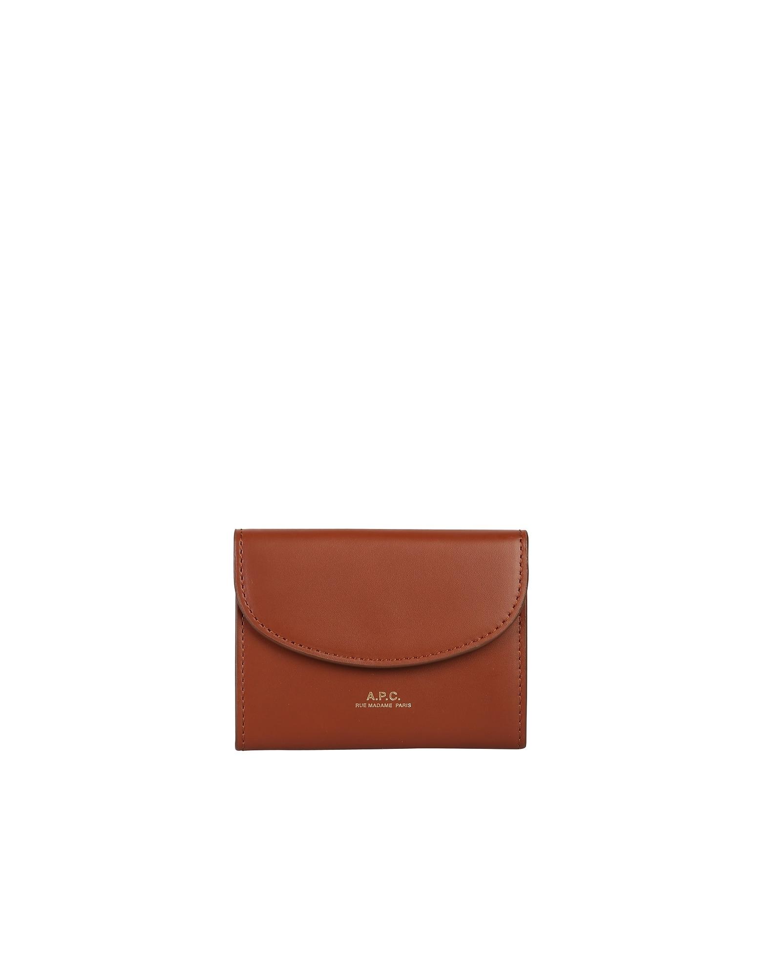 A.P.C. Designer Wallets, Genève Card Holder