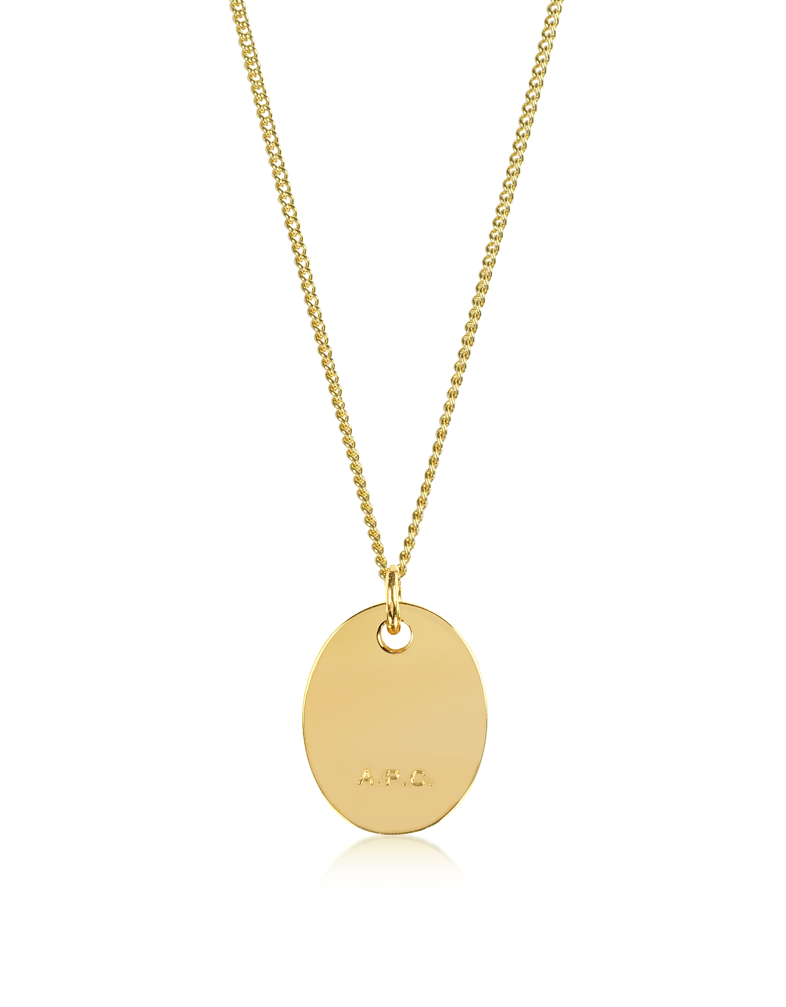 A.P.C. Necklaces, Hannaelle Oval Pendant Necklace