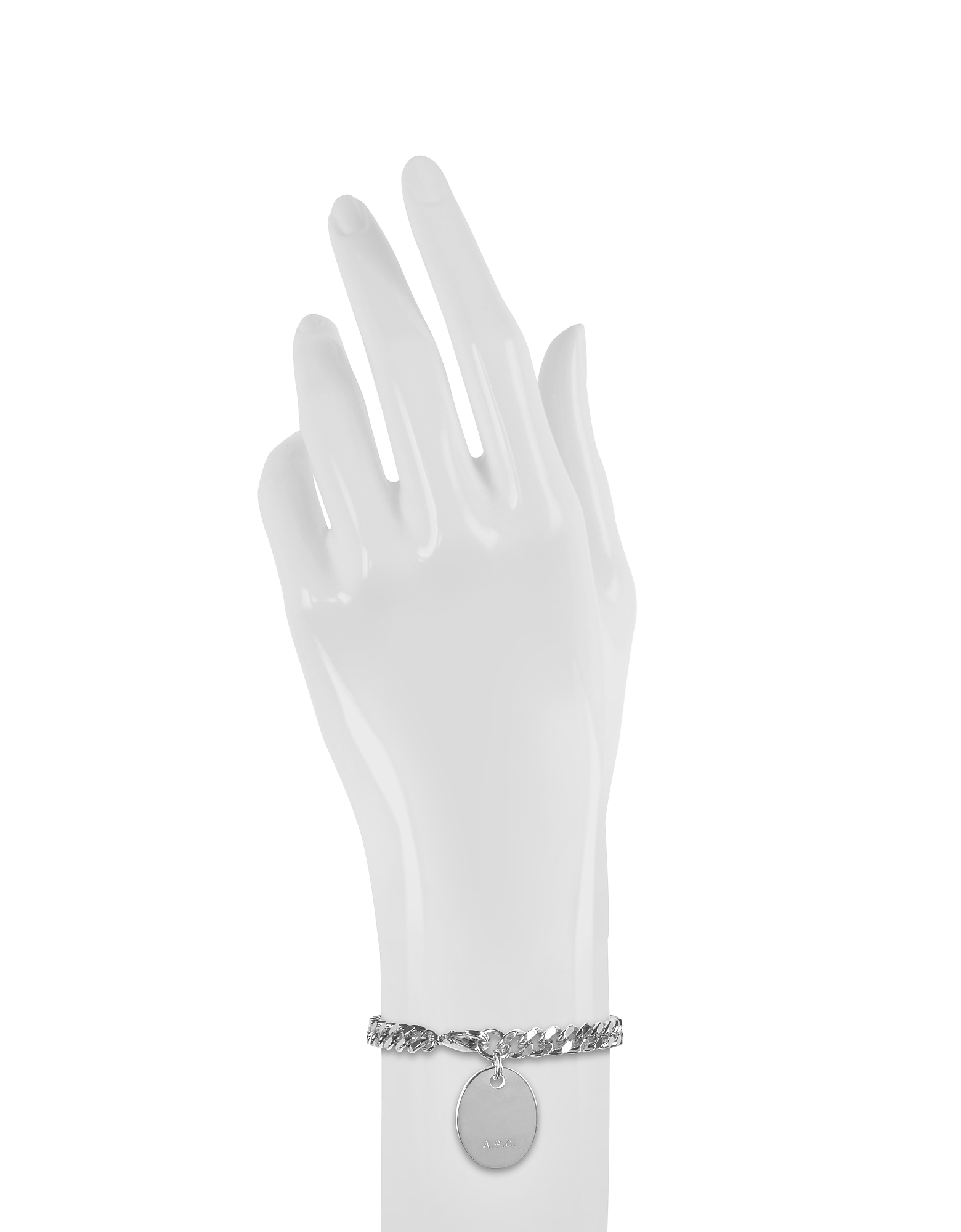 Hannaelle Chain Bracelet w/Oval Charm от Forzieri.com INT