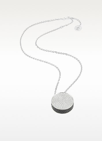 Halskette mit rundem Anhänger - Azhar