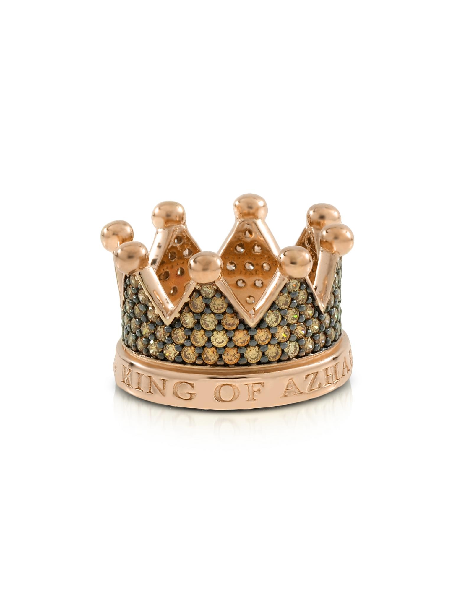 Re - Кольцо Корона из Серебра и Циркония