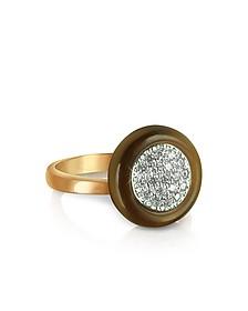 White Cubic Zirconia Silver Vermeil Ring - Azhar