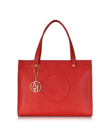 Eco Leather Medium Tote Bag