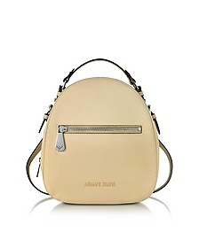 Small Eco Leather Backpack - Armani Jeans