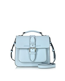 Signature Eco Leather Square Crossbody Bag - Armani Jeans