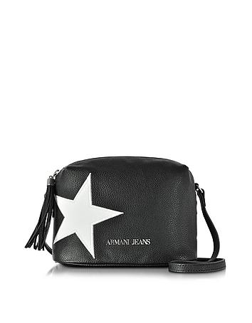 Armani Jeans - White Star Small Crossbody Bag