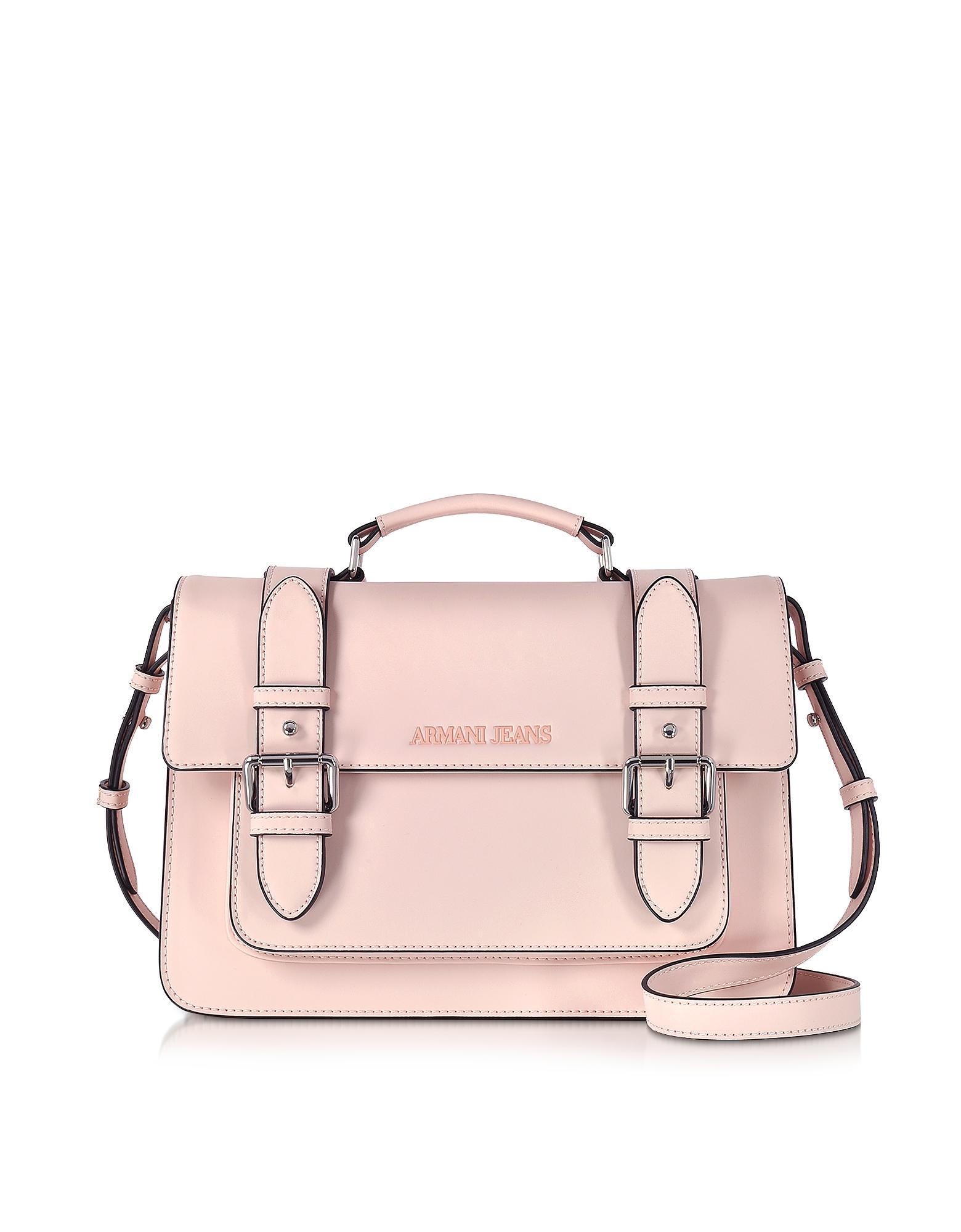 Armani Jeans Handbags, Eco Leather Medium Crossbody Bag