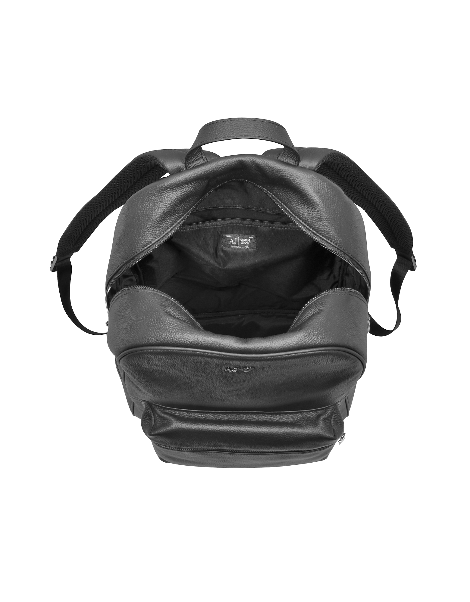 Black Leather Backpack от Forzieri.com INT