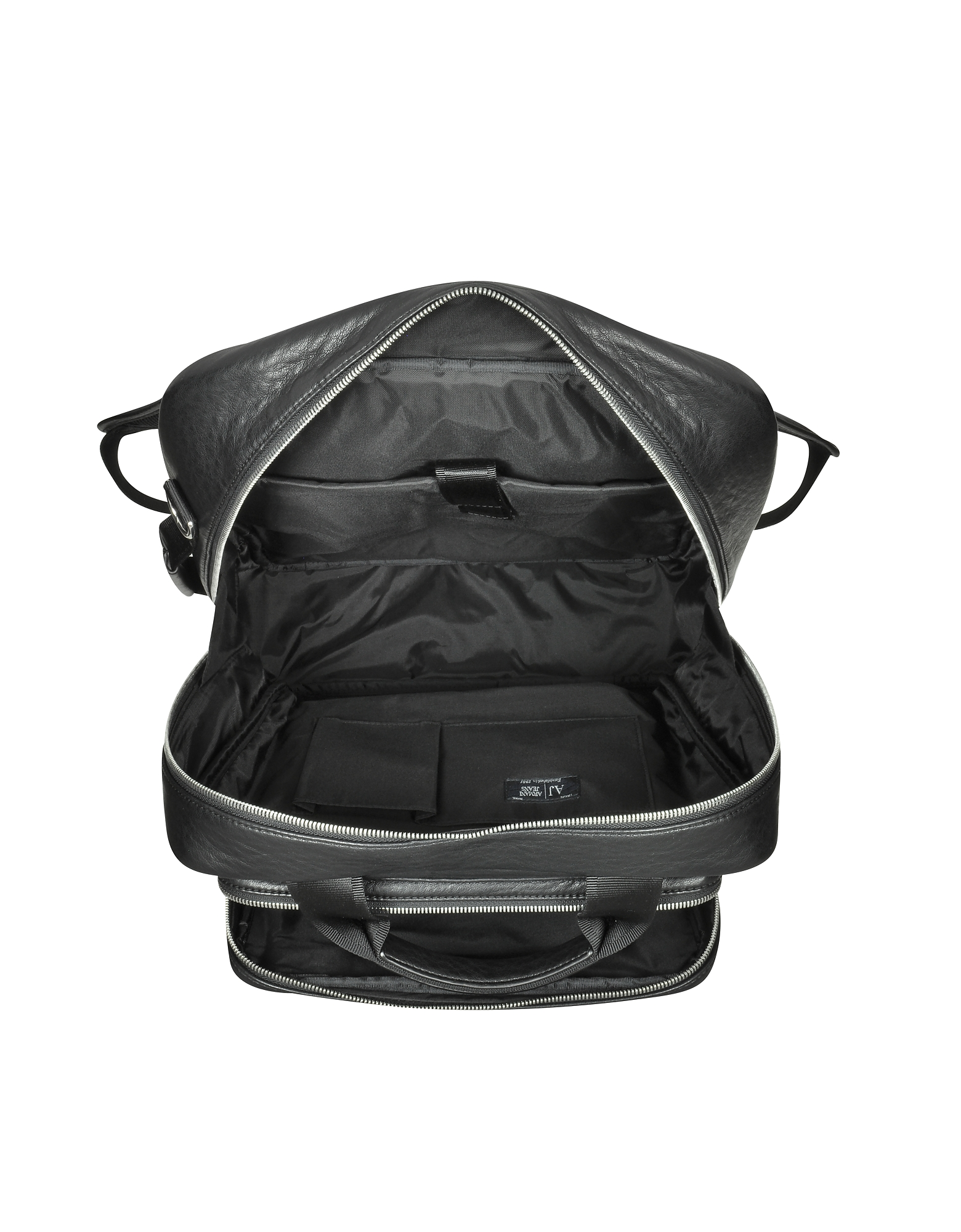 Black Eco Leather Backpack от Forzieri.com INT