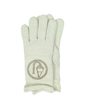 Armani Jeans - Signature Wool Blend Gloves