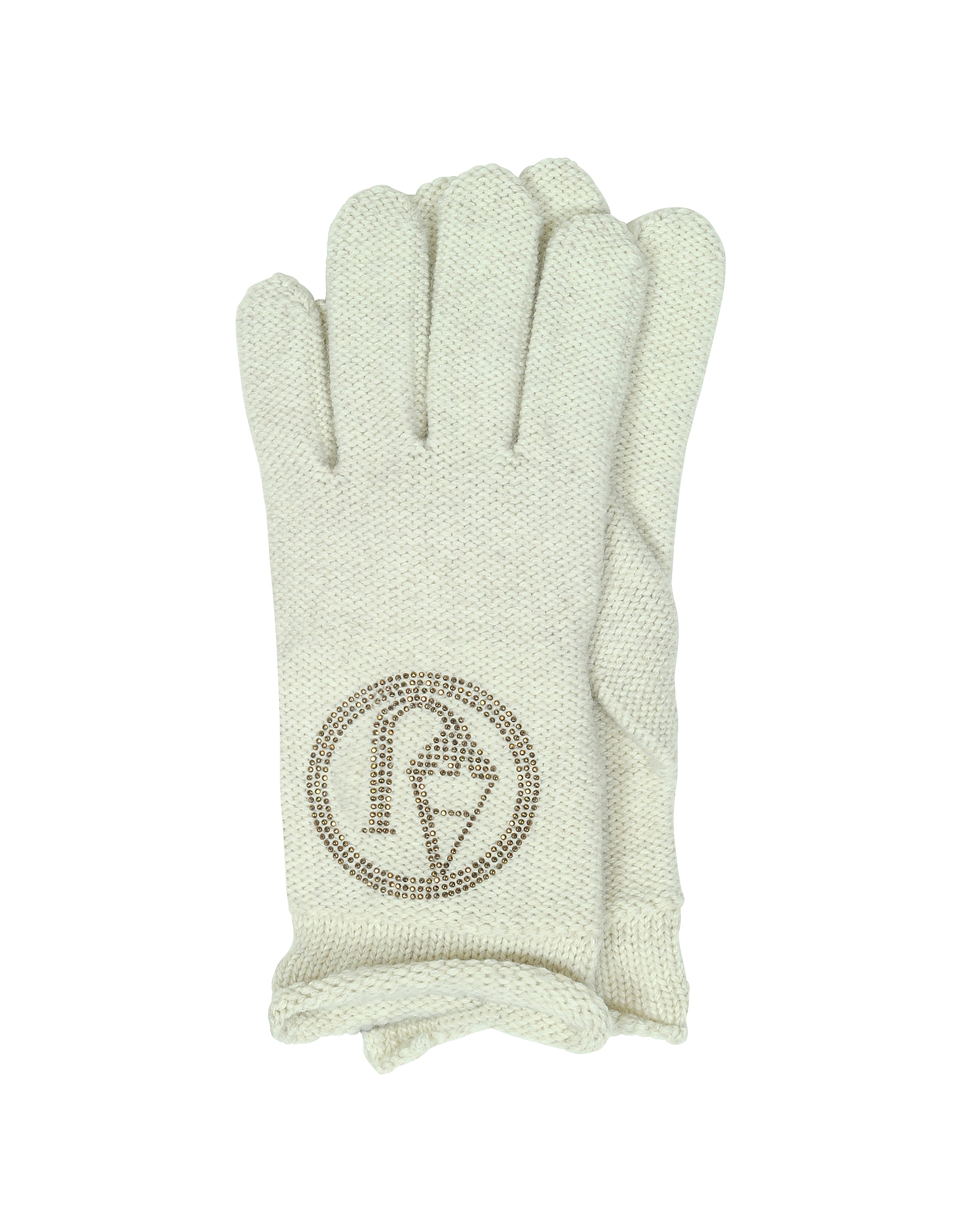 Signature Wool Blend Gloves от Forzieri.com INT