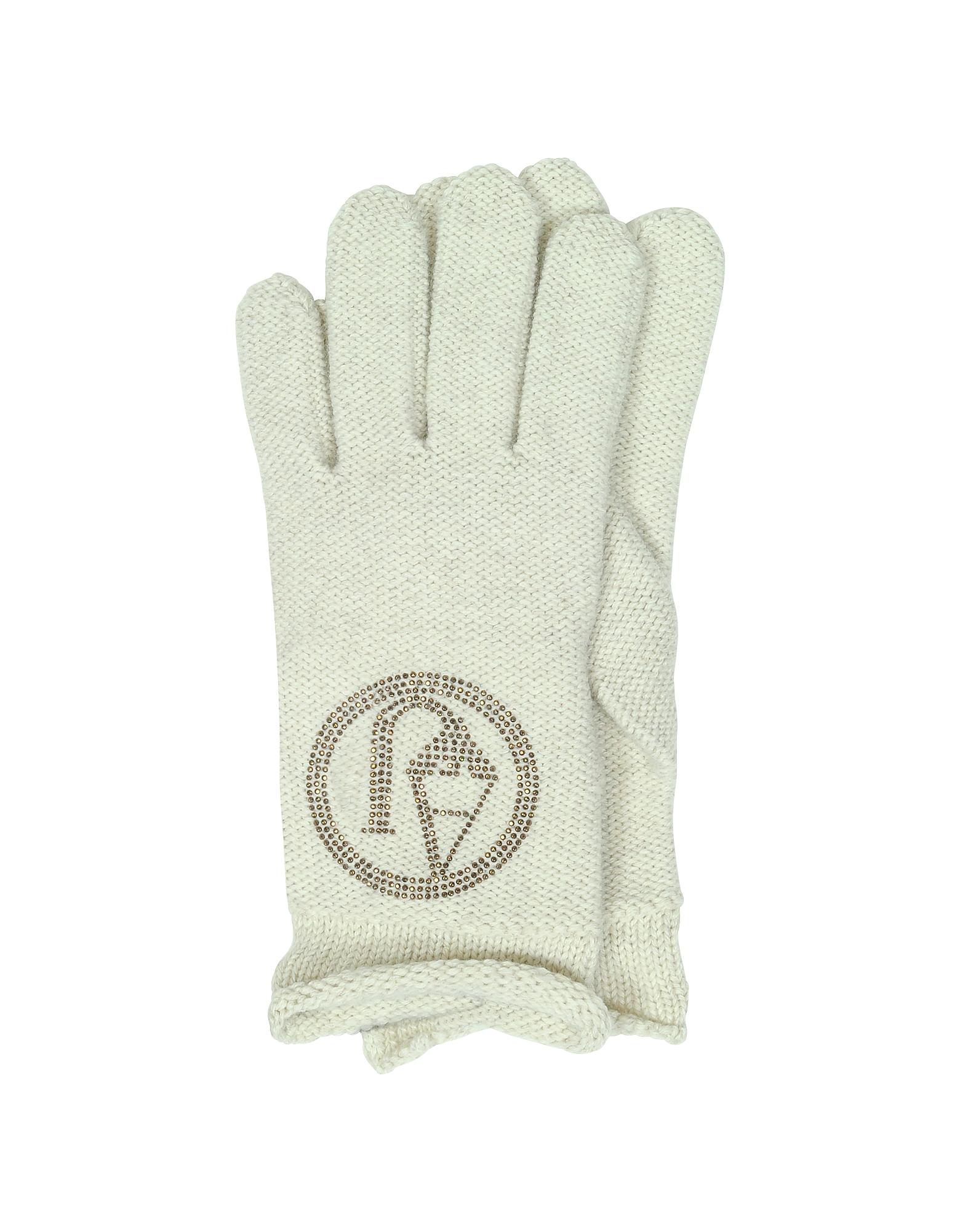 Armani Jeans Фирменные Вязаные Шерстяные Перчатки