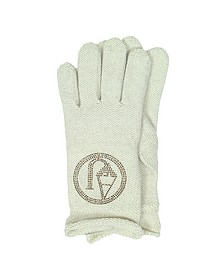 Signature Wool Blend Gloves - Armani Jeans