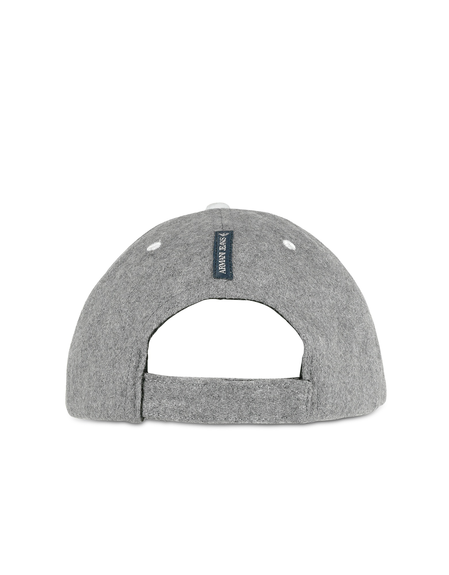 Gray Wool Blend Signature Baseball Hat от Forzieri.com INT