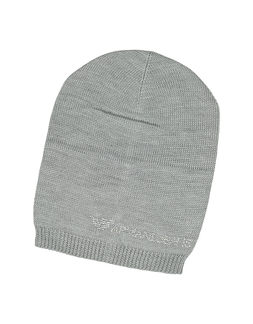 Armani Jeans - Crystal Signature Wool Blend Hat