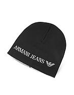 Armani Jeans Cappello in Maglia di Lana Tinta Unita - armani jeans - it.forzieri.com