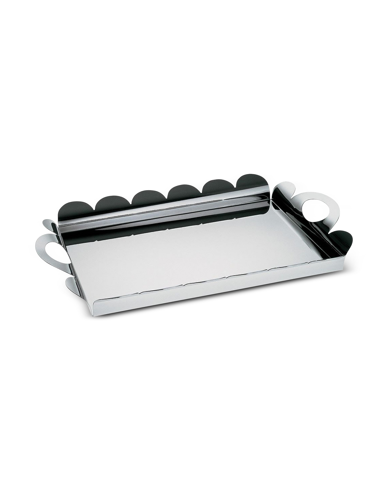 Alessi Designer Kitchen & Dining, Recinto - Rectangular Tray with Handles