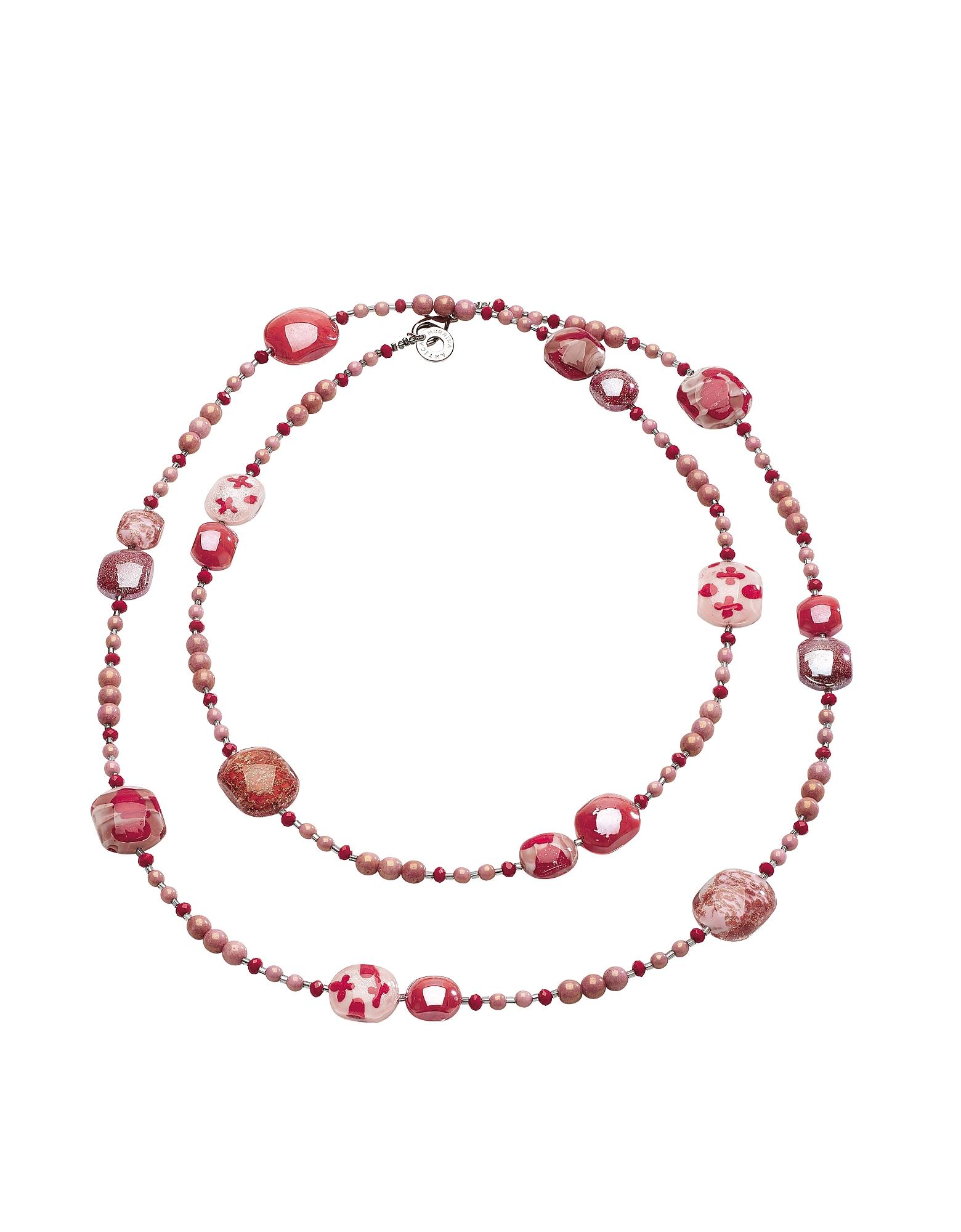 Antica Murrina Necklaces, Long Domino Necklace