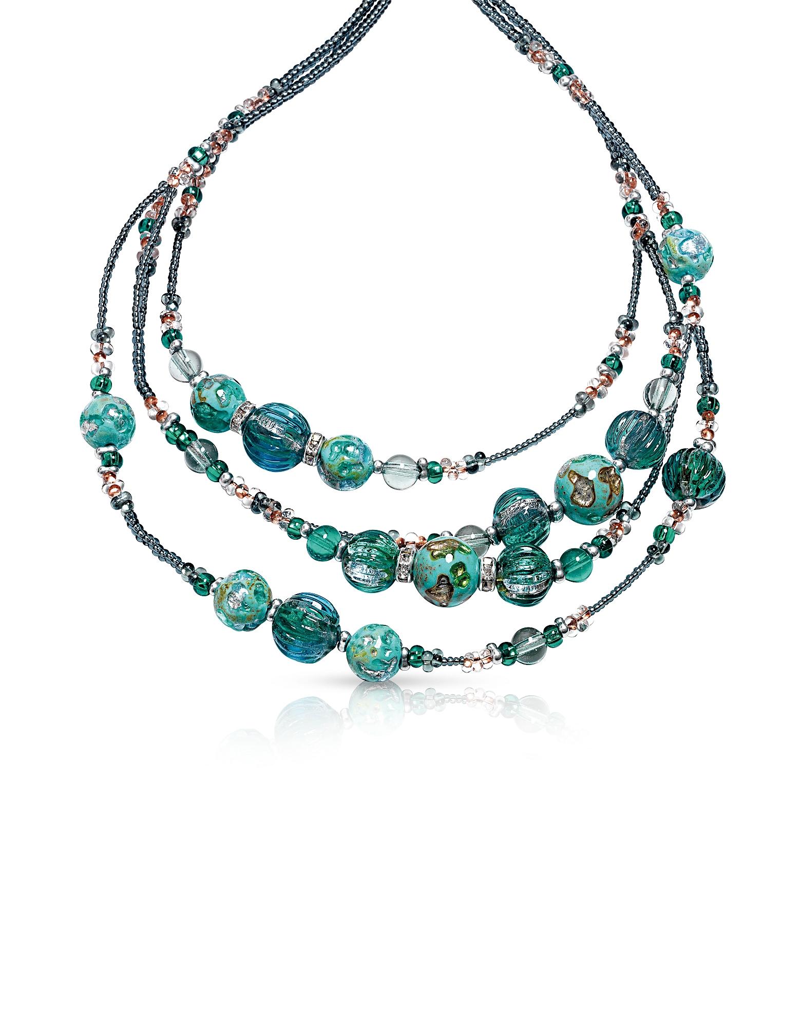 Elizabeth 1 - Ожерелье из Стекла Мурано