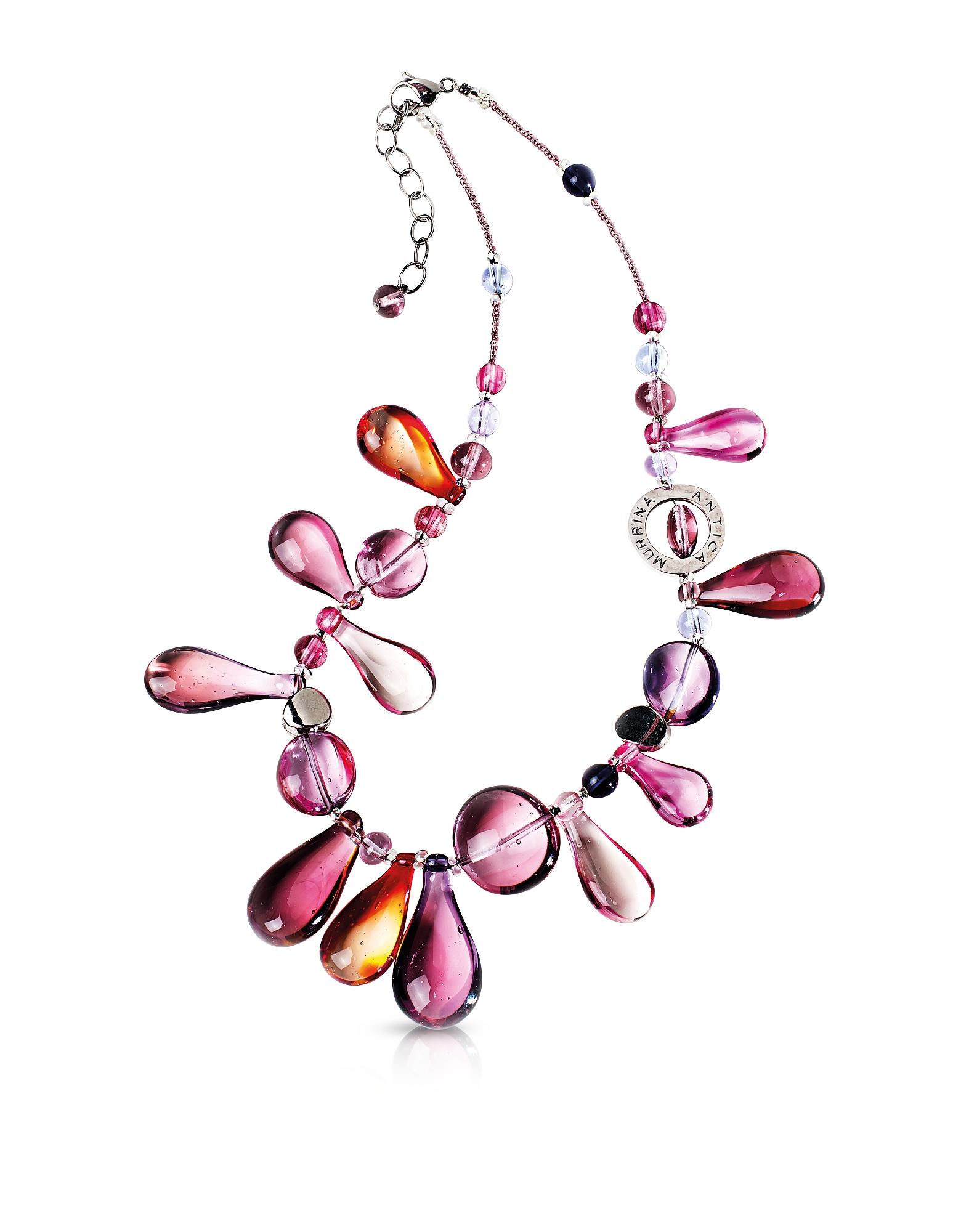 Фото Lapilli - Ожерелье из Стекла Мурано. Купить с доставкой