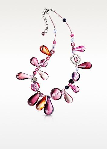 Lapilli Halskette aus Muranoglas - Antica Murrina Veneziana