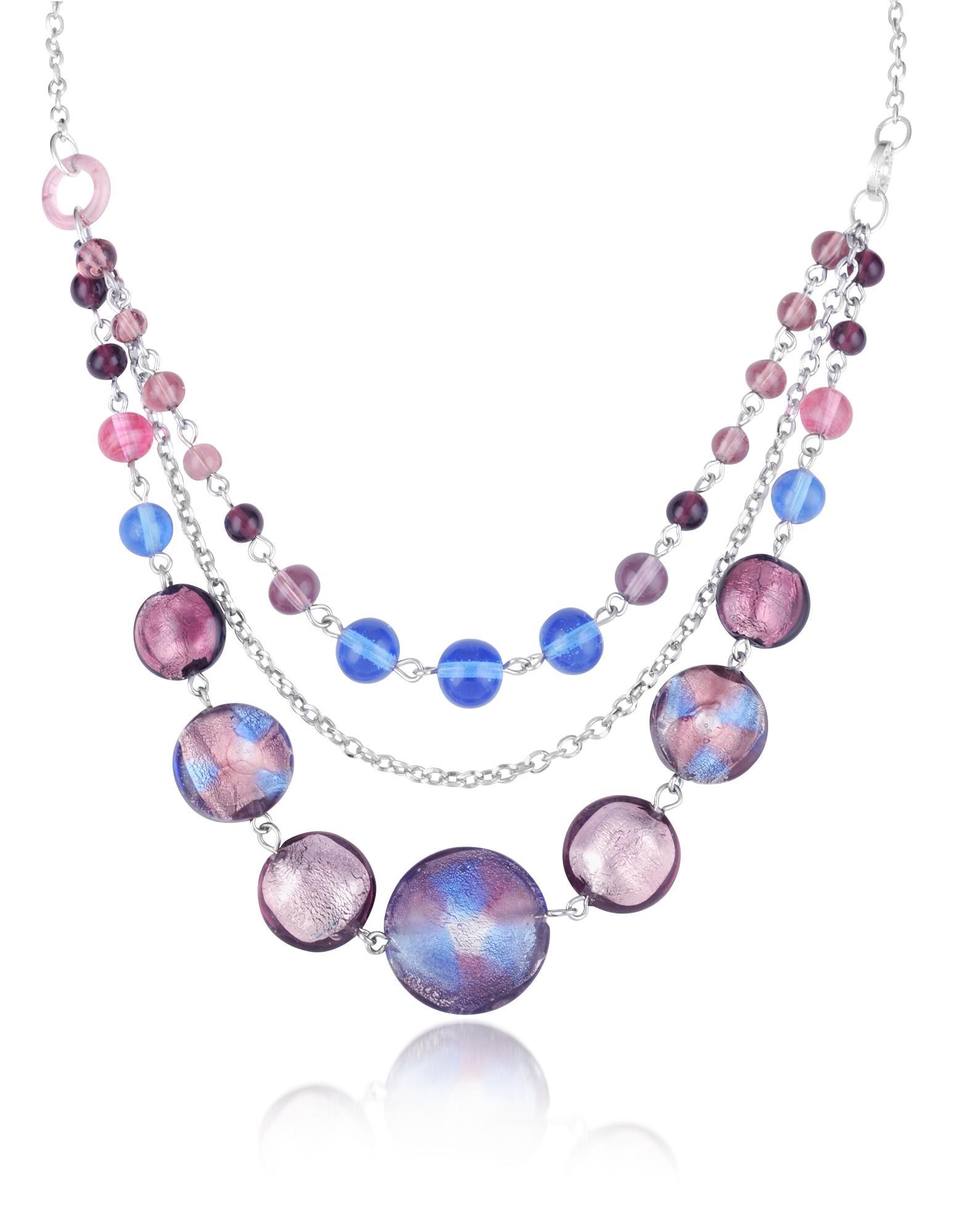 Antica Murrina Celebrity - Multistrand Murano Glass Necklace