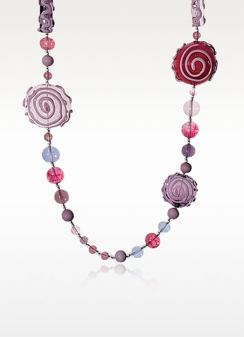 Mignon - Long Murano Glass Necklace - Antica Murrina