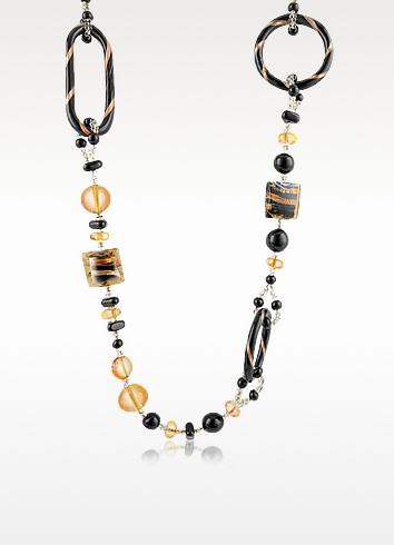 Bolero - Murano Glass Long Necklace - Antica Murrina