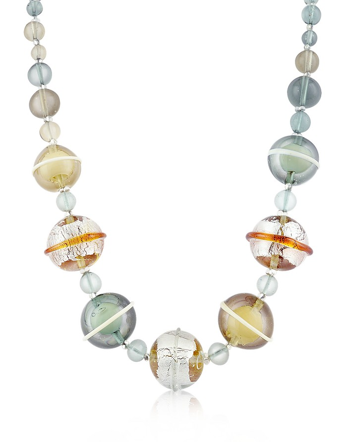 Flume - Murano Glass Choker Necklace - Antica Murrina