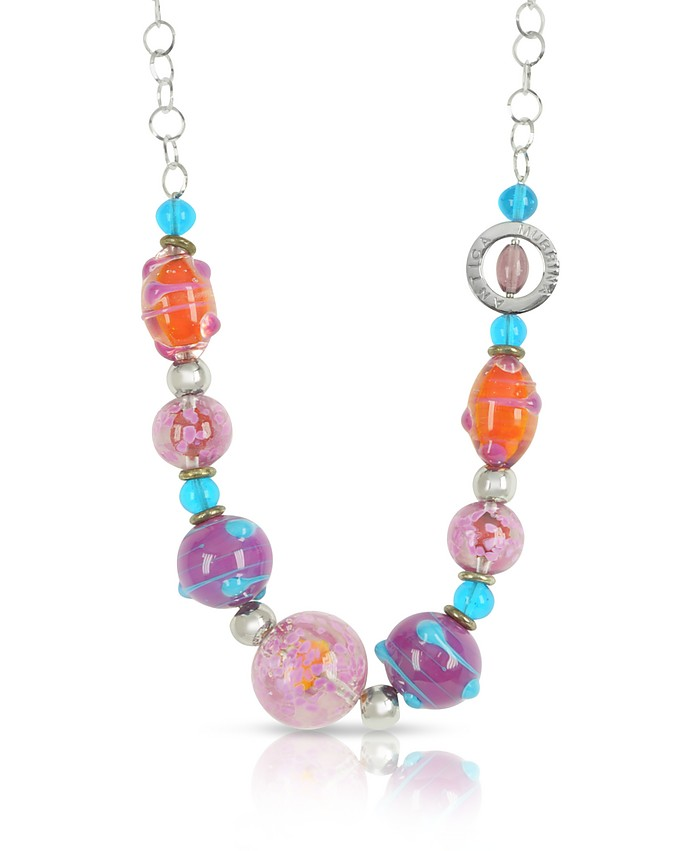 Sahara - Murano Glass Necklace - Antica Murrina