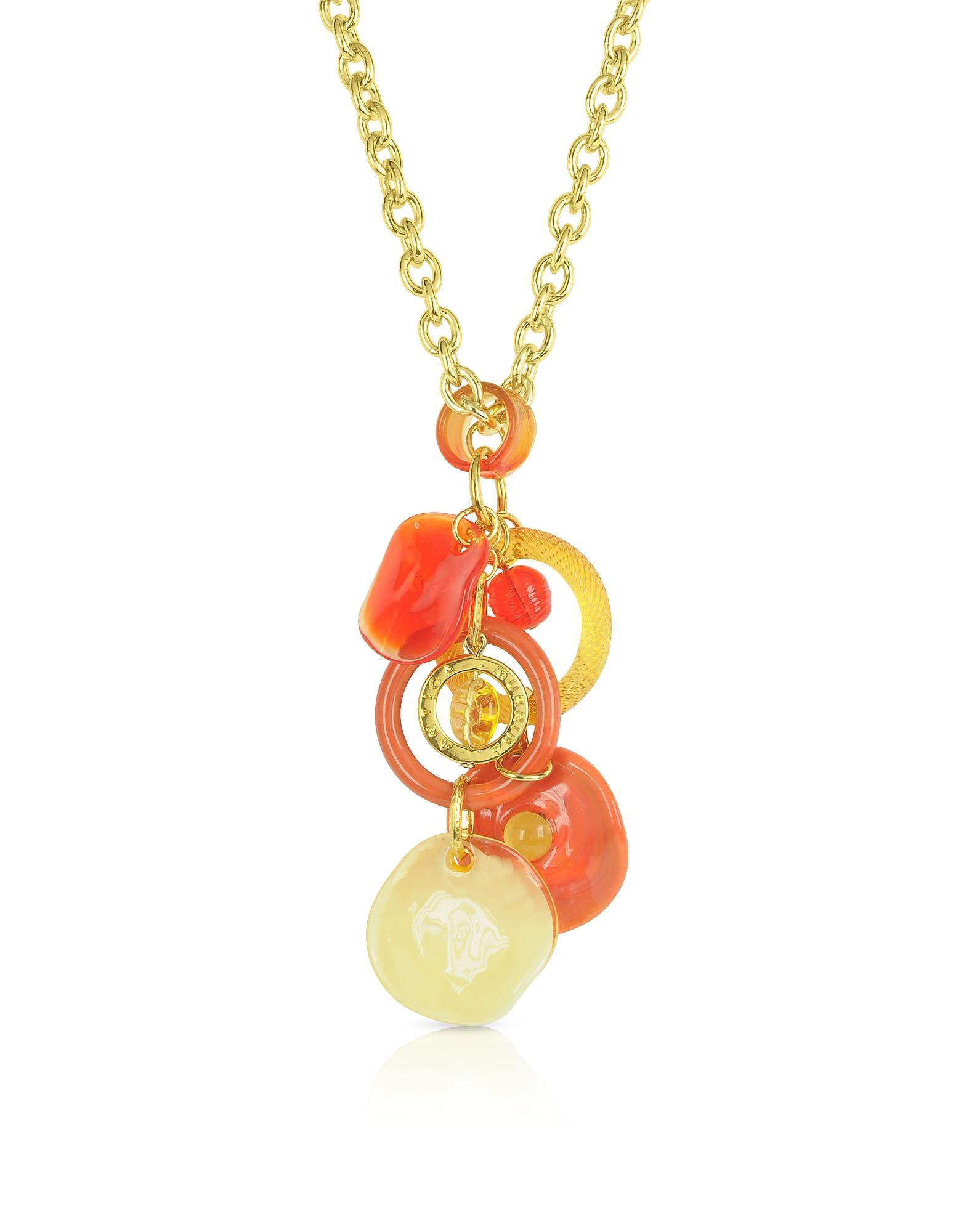 Shiva - Ожерелье с Чармами из Стекла Мурано