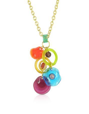 Shiva - Murano Glass Charm Necklace