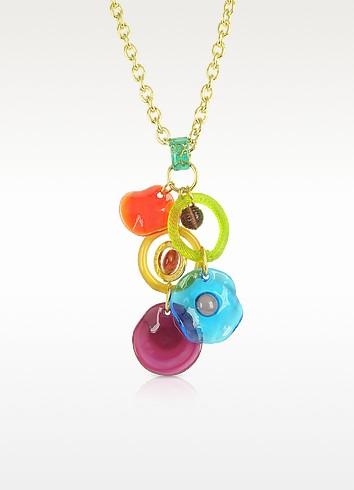 Shiva - Murano Glass Charm Necklace - Antica Murrina