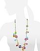 Lapilli - Long Murano Glass Necklace - Antica Murrina