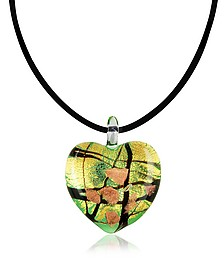 Passione - Murano Glass Heart Pendant - Antica Murrina