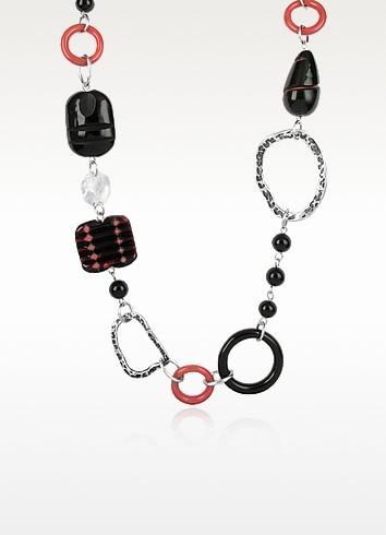 Alabama - Murano Glass Bead Necklace - Antica Murrina