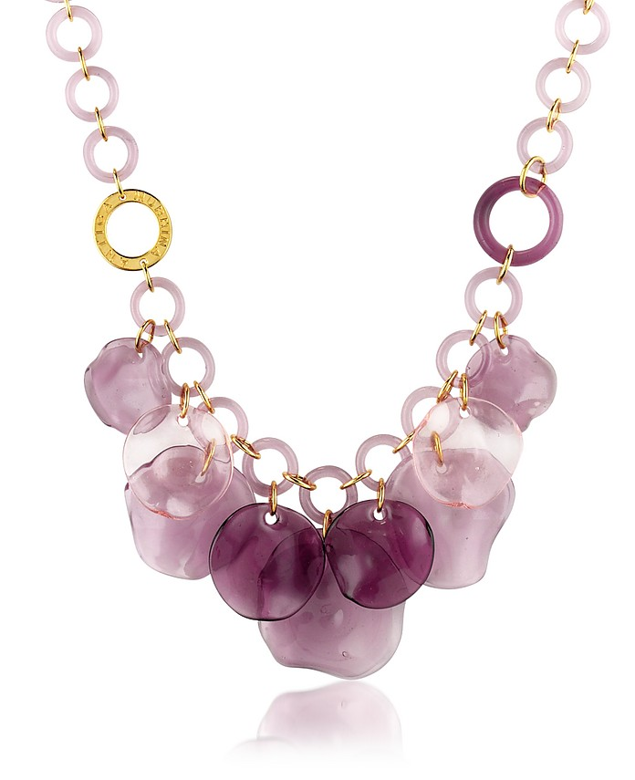 Syria - Murano Glass Charm Necklace - Antica Murrina
