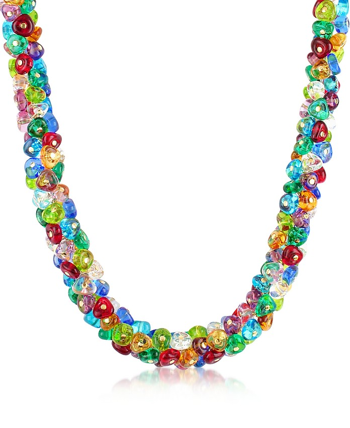 Rubik - Murano Glass Drops Necklace - Antica Murrina