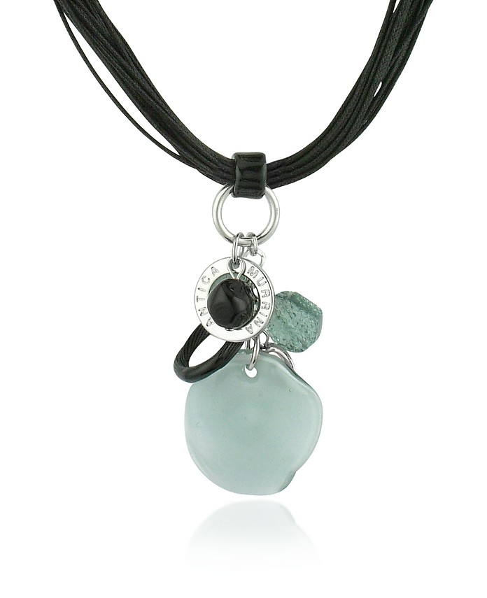 Kali' - Murano Glass Charm Pendant Necklace  - Antica Murrina