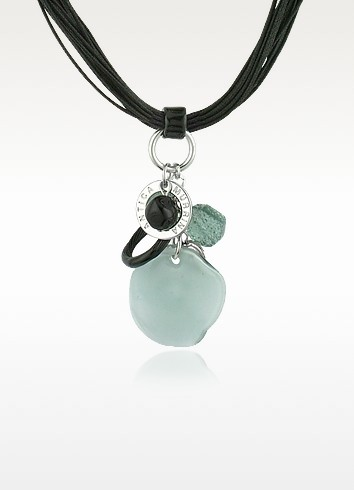 Kali' - Murano Glass Charm Pendant Necklace  - Antica Murrina