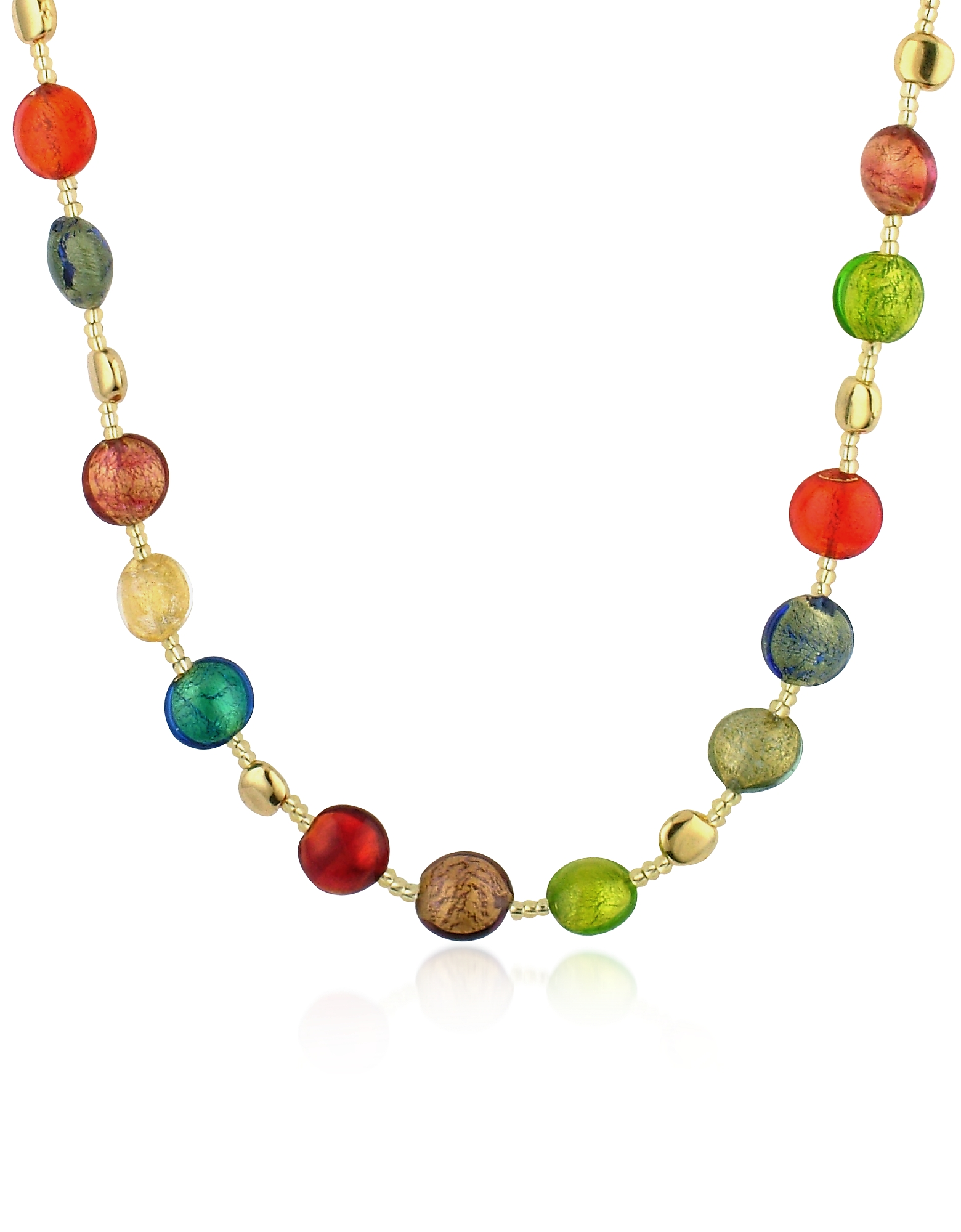 Antica Murrina Necklaces, Frida - Murano Glass Bead Necklace