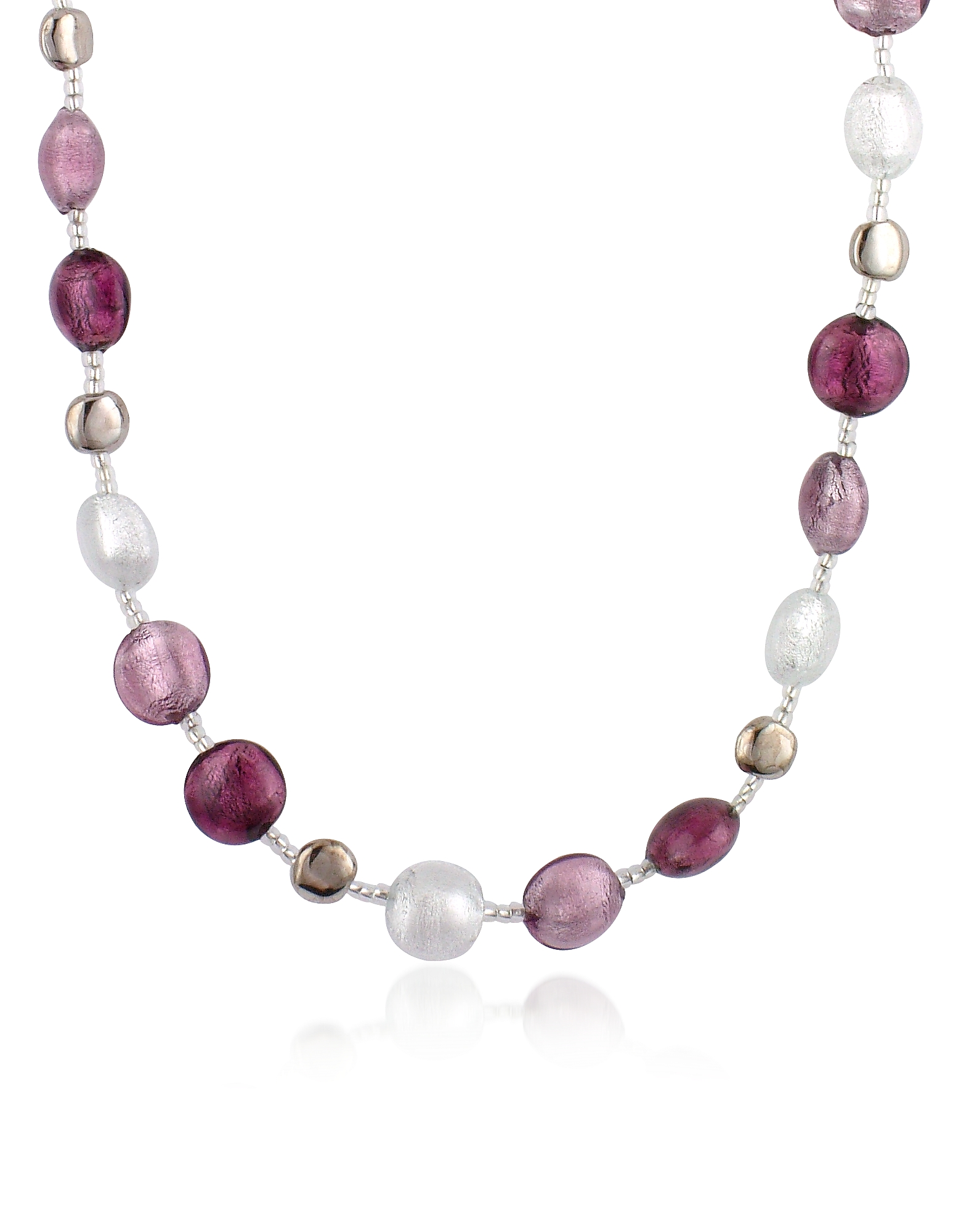 Antica Murrina Necklaces, Frida - Murano Glass Bead Necklace