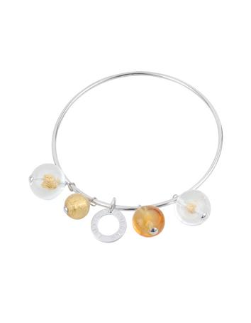 Antica Murrina Loop - Murano Glass Charm Bangle Bracelet