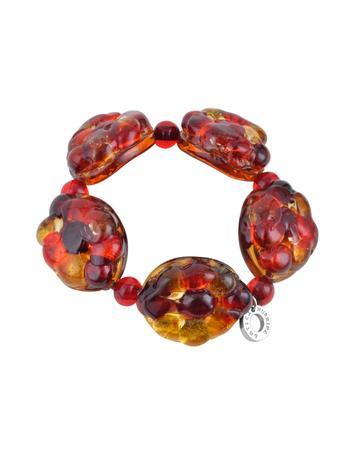 Antica Murrina Air - Murano Glass Bead Elastic Bracelet