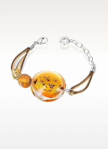 Anika - Murano Glass Bead Bracelet - Antica Murrina