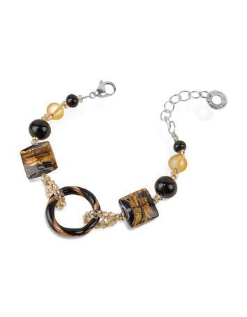Bolero - Murano Glass Bead Bracelet