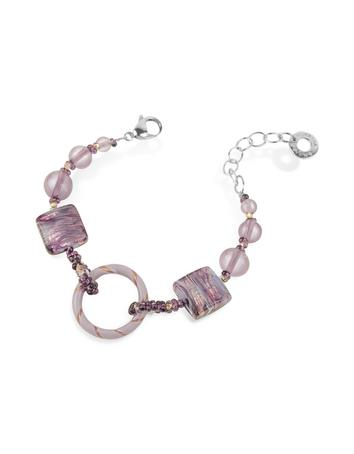 Lux-ID 208804 Bolero - Murano Glass Bead Bracelet