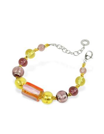 Lux-ID 208805 Dakar - Murano Glass Beads Bracelet