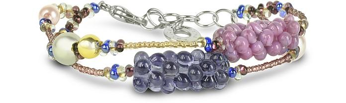 India Divinity Murano Glass Pearl Bracelet - Antica Murrina