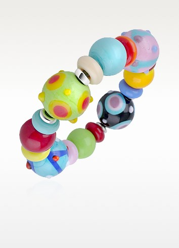 Ipanema - Multicolor Murano Glass Bead Bracelet - Antica Murrina